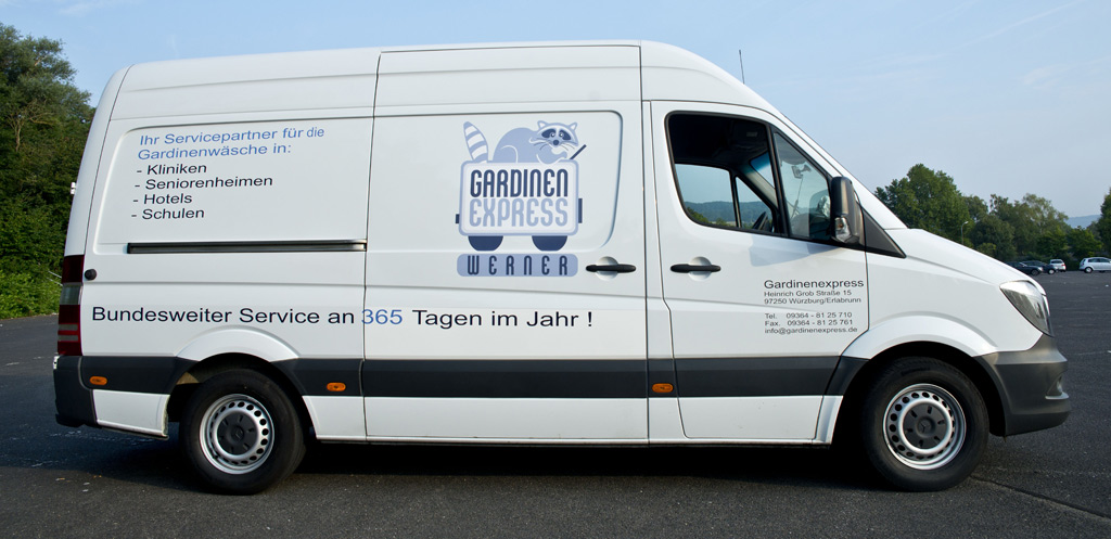Mobile Waschstation | Gardinenexpress Werner